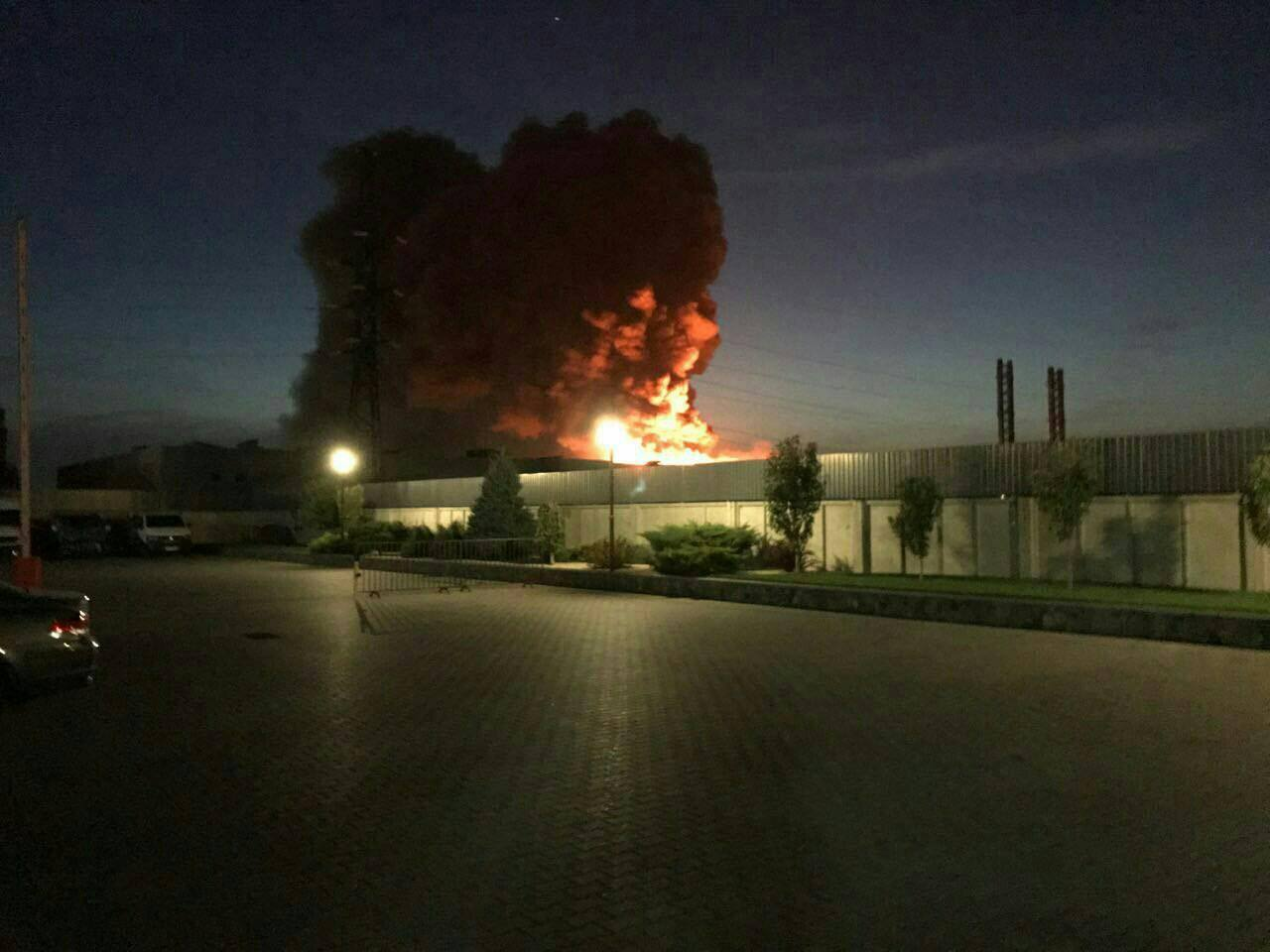 Пожежу нафармзаводі у Білій Церкві локалізовано