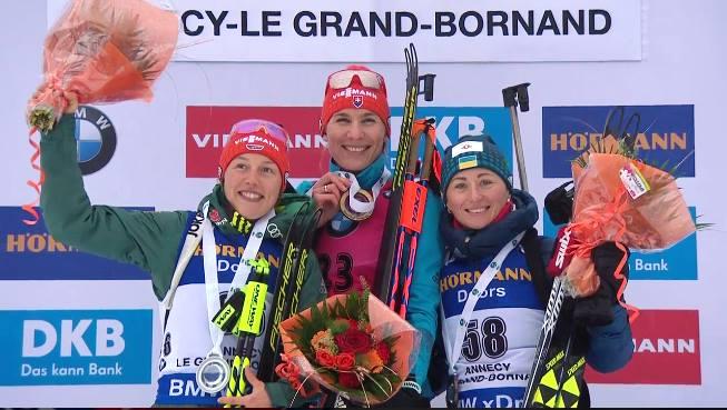Віта Семеренко виграла «бронзу» настарті третього етапу Кубка світу